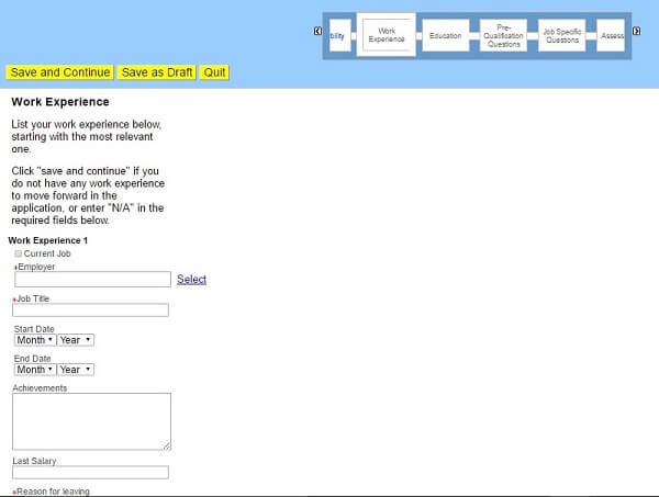 Toys R Us Application Online Application