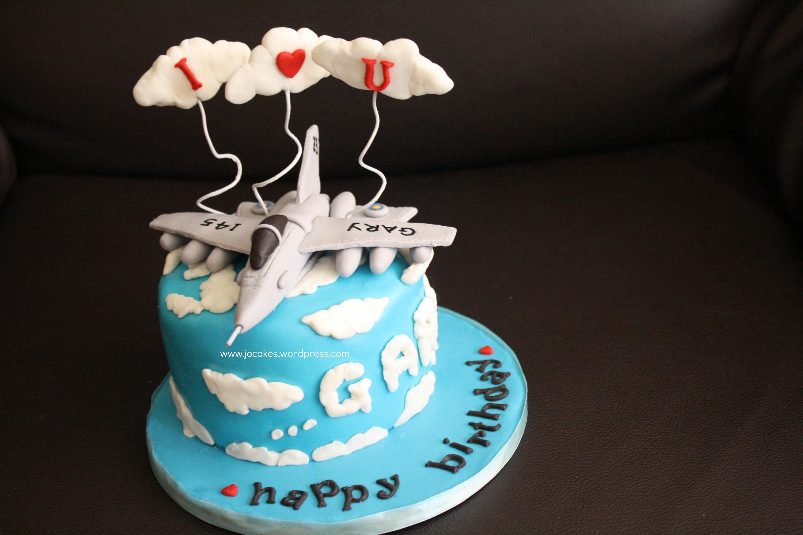 Jet Fighter Cake For Hubby Jocakes