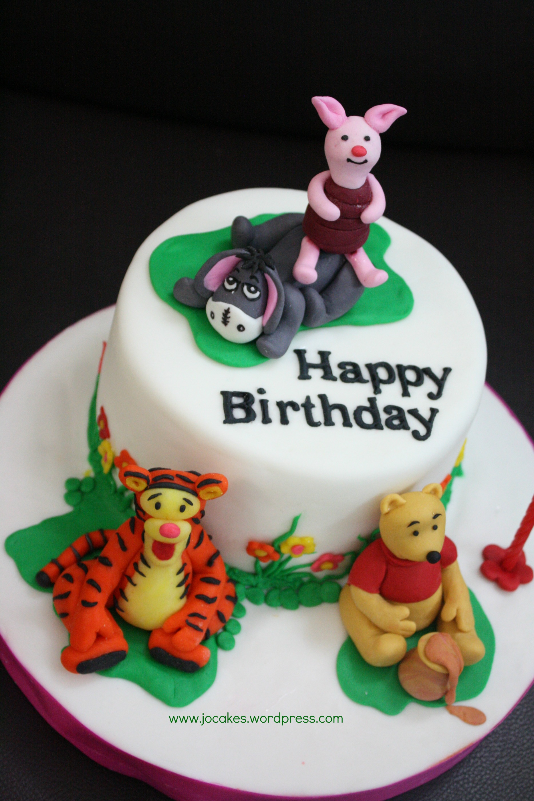 Winnie The Pooh Cake Jocakes