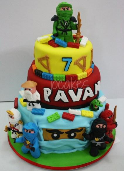 Lego Ninjago Cake For Pavan Jocakes