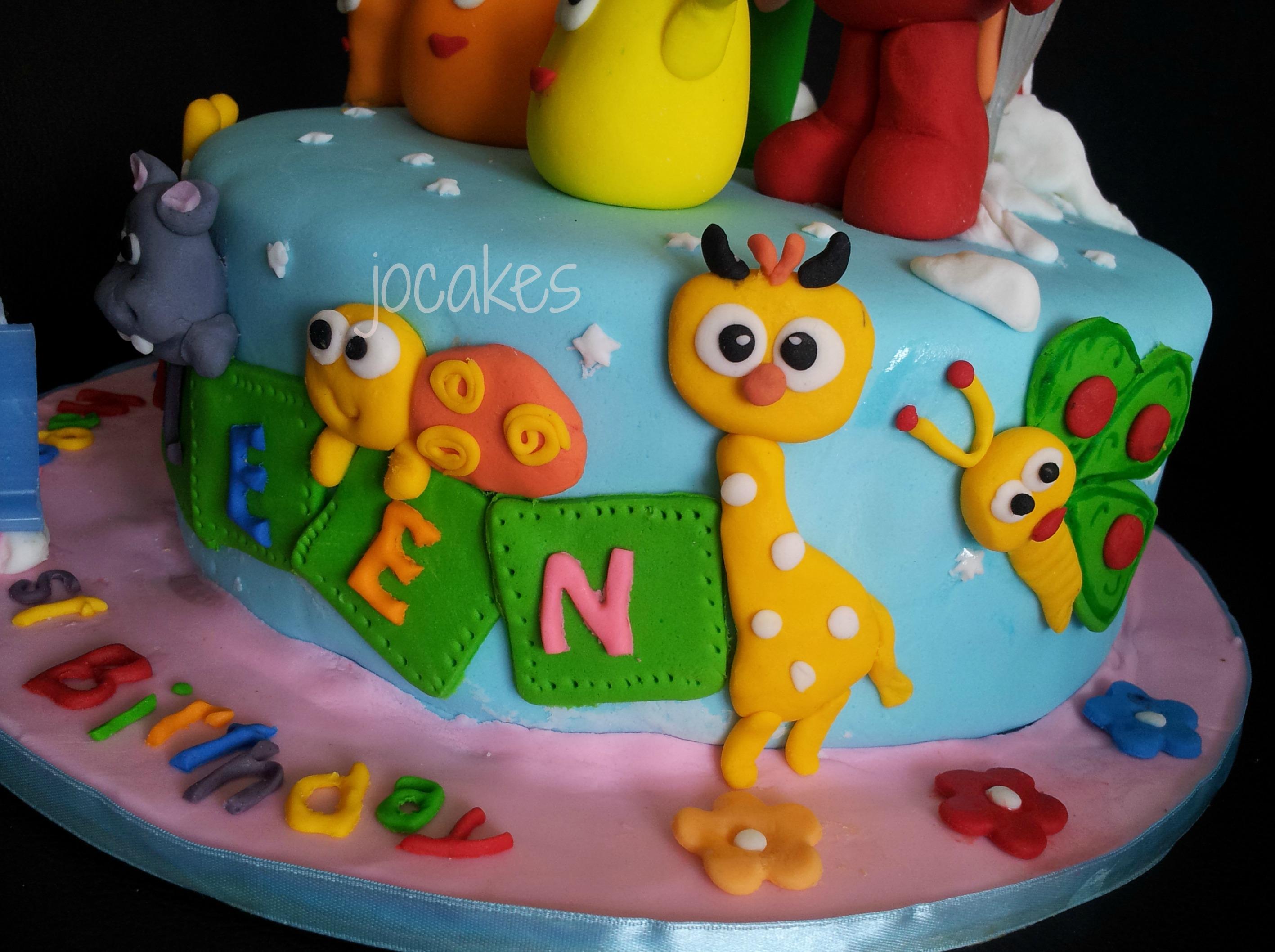 Baby Tv Cake Jocakes