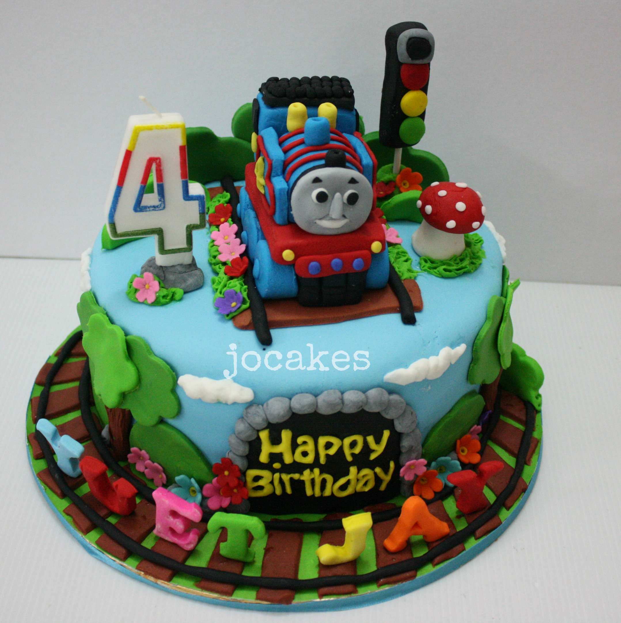 Thomas The Train Cake Jocakes