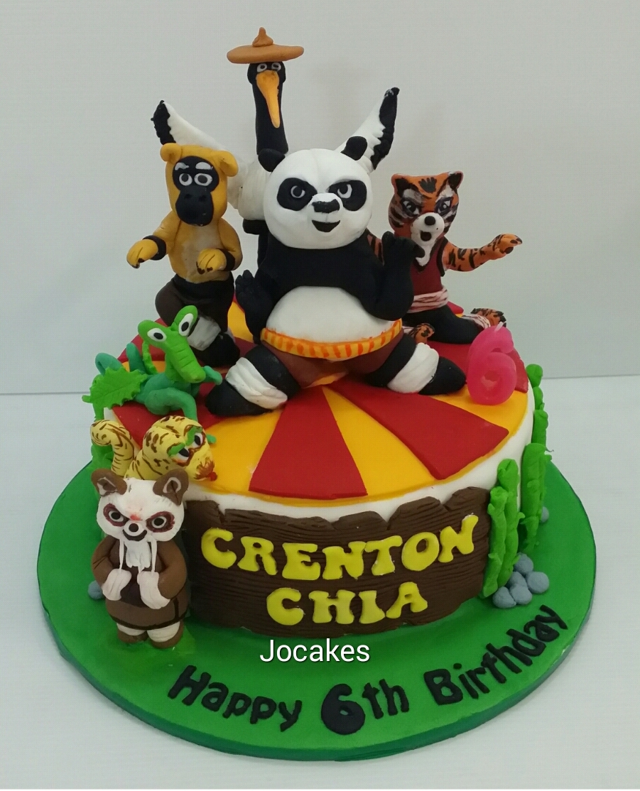 Kungfu Panda Cake Jocakes