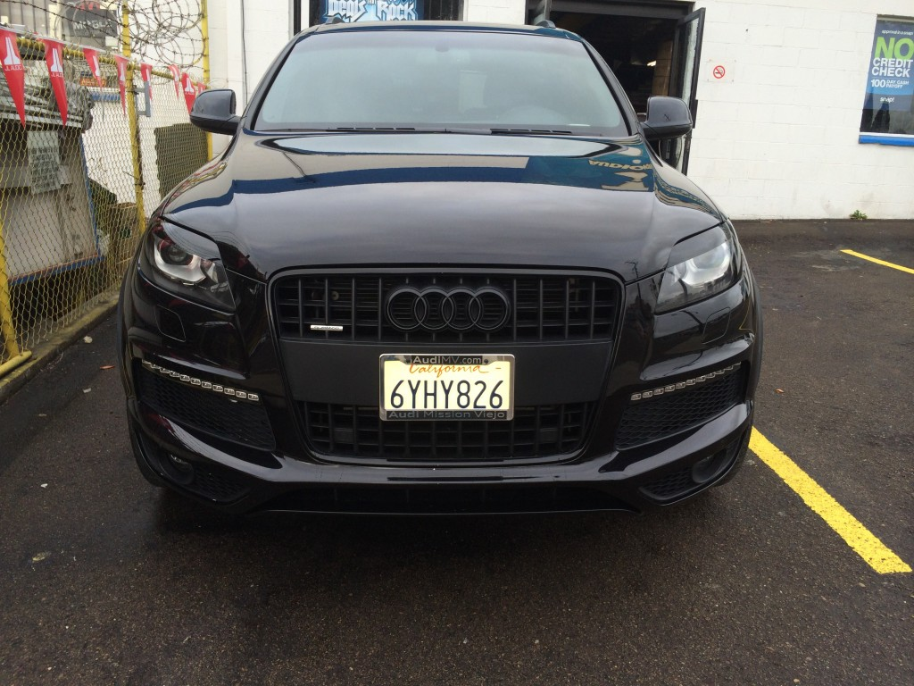 Audi Q7 Blacked Out Joe S Stereo