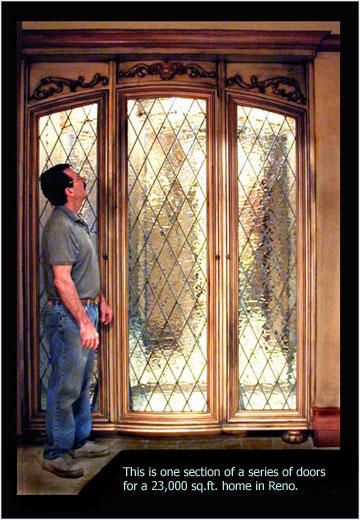 Stained Glass Beveled Glass Leaded Repair Custom