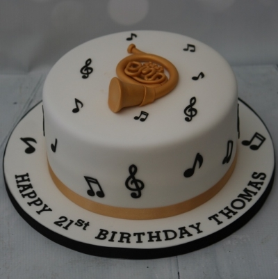 French Horn Cake
