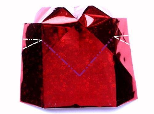 Lid Step Step Box Heart Origami