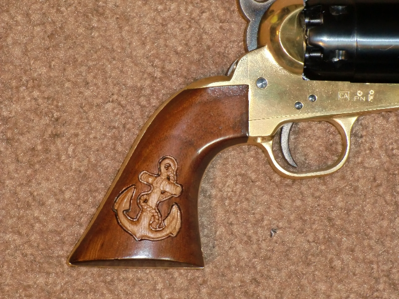 Pistol Grips Jose Valencia Studio Gunstock Carving