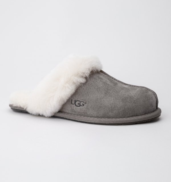 Best Ugg W Scuffette Ii Stormy Grey Womens Slippers Free Uk With Pictures