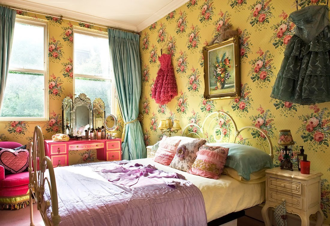 Best Trending Flower Power And Bohemian Chic Decor Tres Chic Decor With Pictures