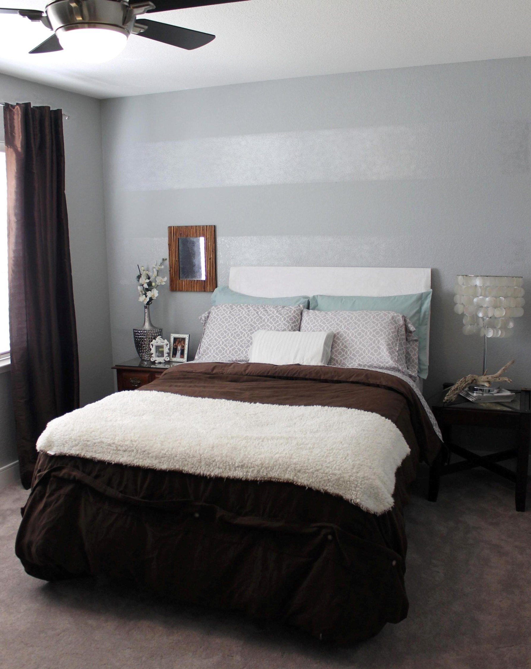 Best Tone On Tone Striped Accent Wall Mrs And The Misc With Pictures