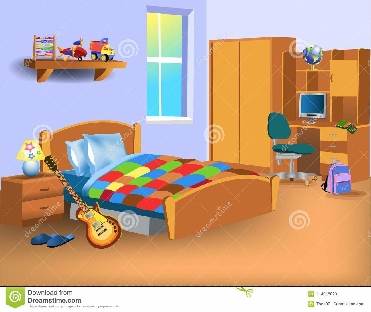 Best Child Bedroom Stock Illustrations – 5 092 Child Bedroom With Pictures
