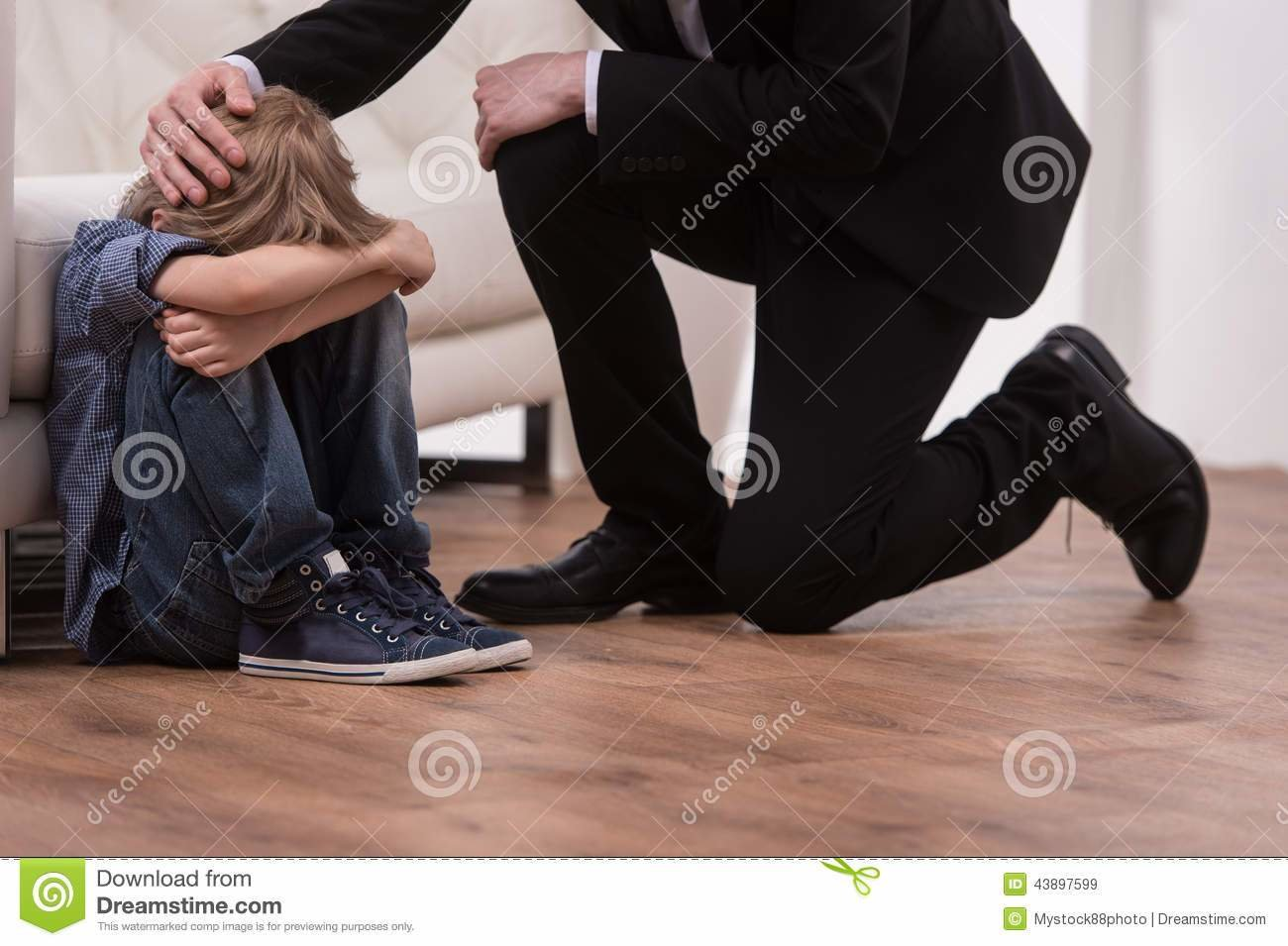 Best Father Kneeling Next To Disabled Son In Walker Stock Photo With Pictures