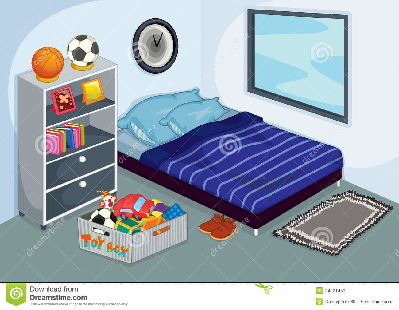 Best Messy Bedroom Stock Vector Illustration Of Photos Tidy With Pictures