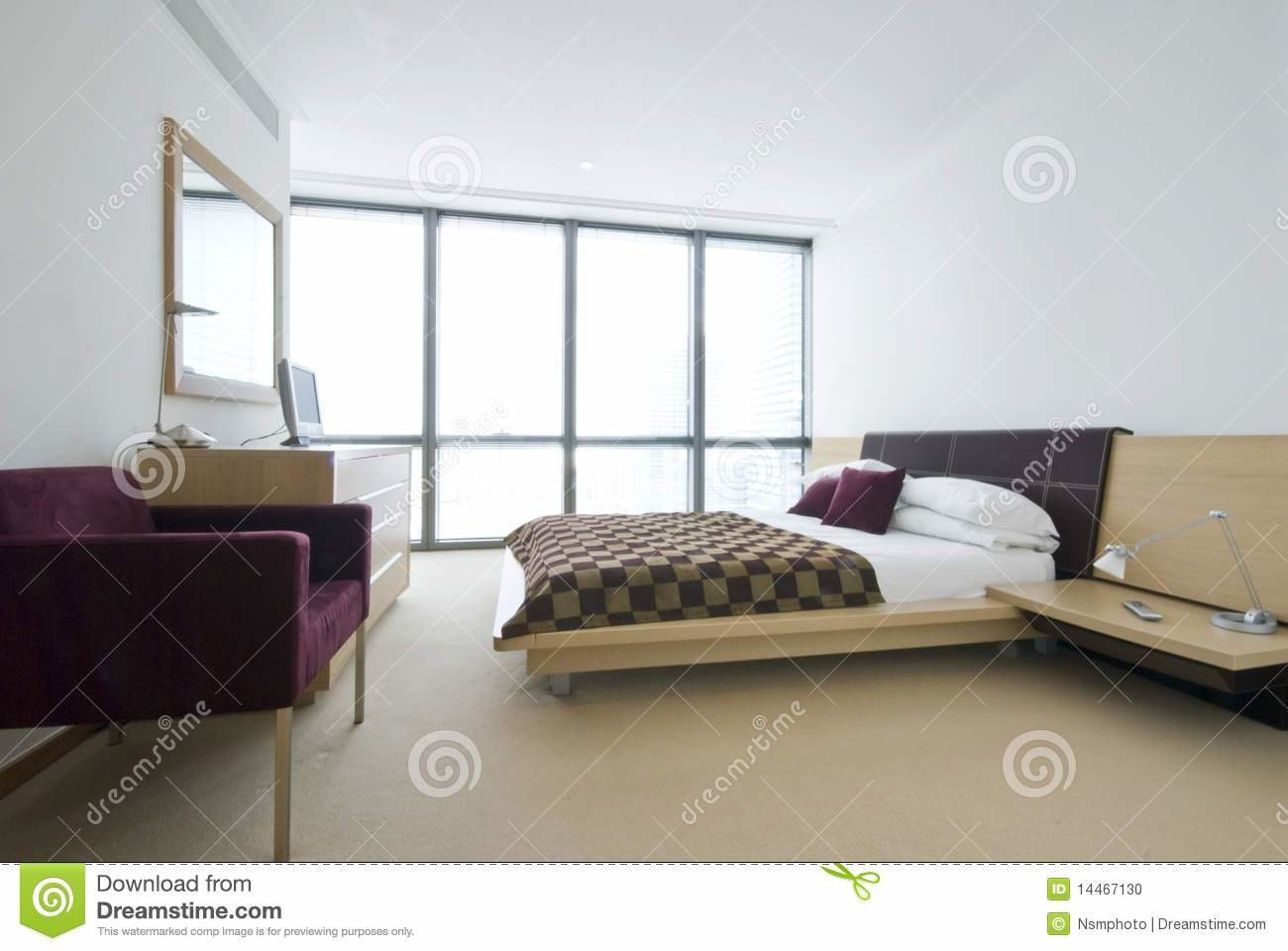 Best Modern Double Bedroom With King Size Bed Stock Photo With Pictures