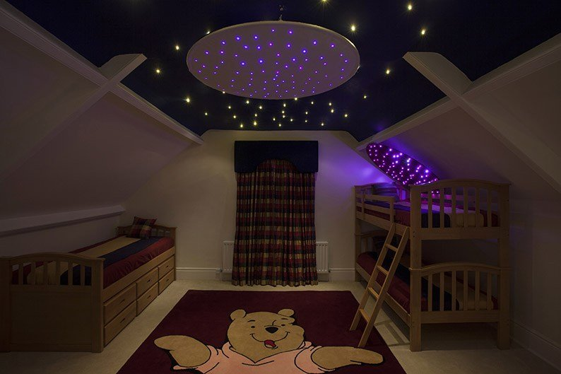 Best Star Cloth Ceiling Ring Unlimited Light With Pictures