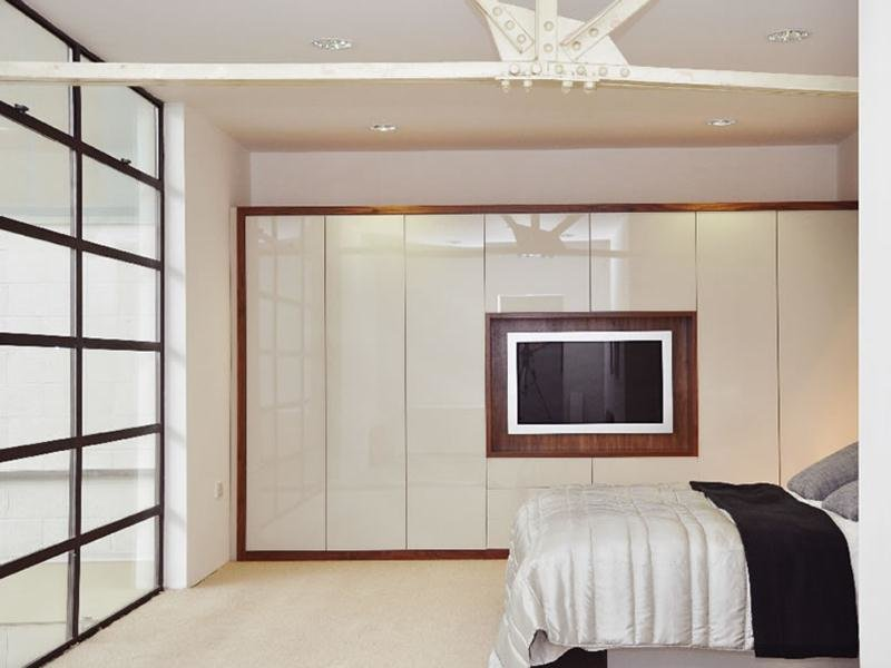 Best Gray Bedroom Wardrobe Color Design With Pictures