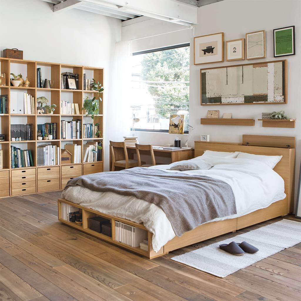 Best Bedroom Compact Life Muji With Pictures