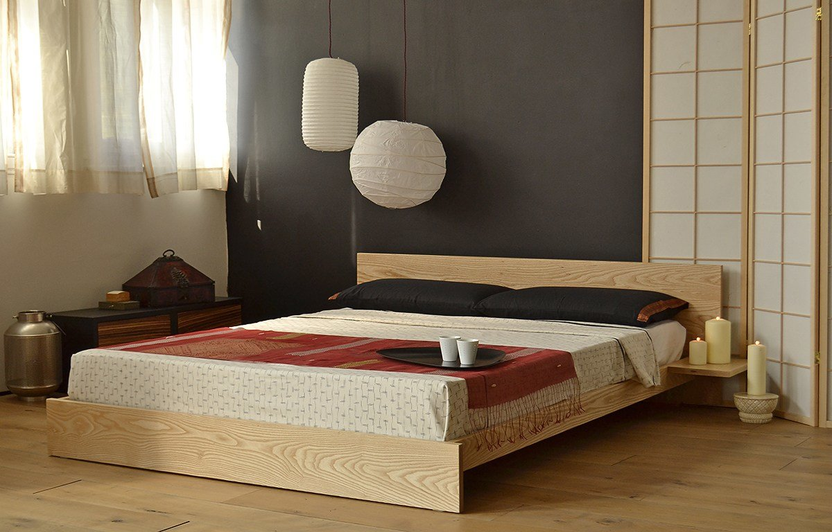 Best Japanese Beds Bedroom Design Inspiration Natural Bed With Pictures