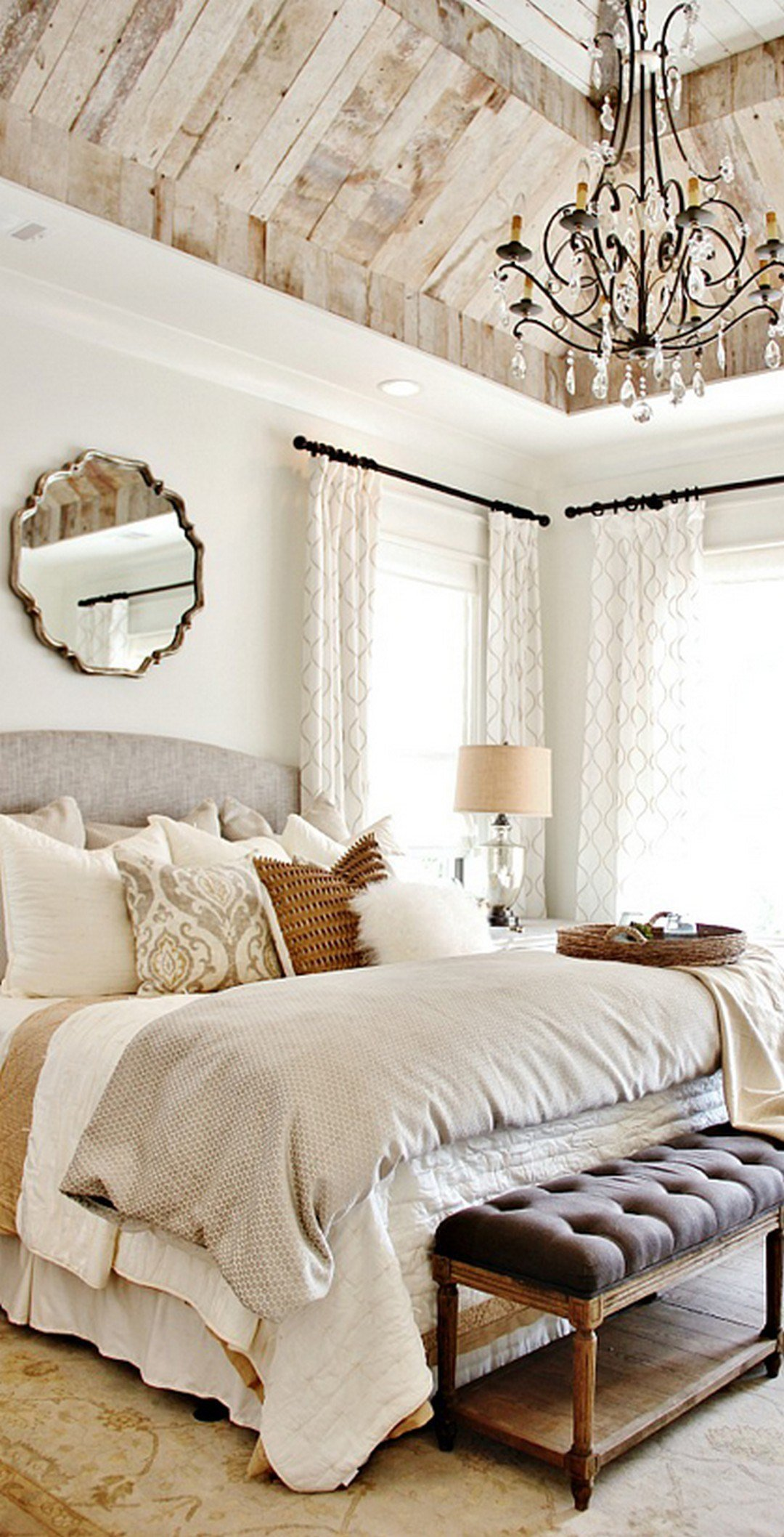 Best Rustic Farmhouse Bedroom Decorating Ideas To Transform With Pictures
