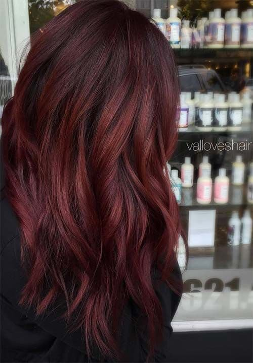 Free 11 Auburn Red Hair Color Ideas 2019 On Haircuts On Wallpaper