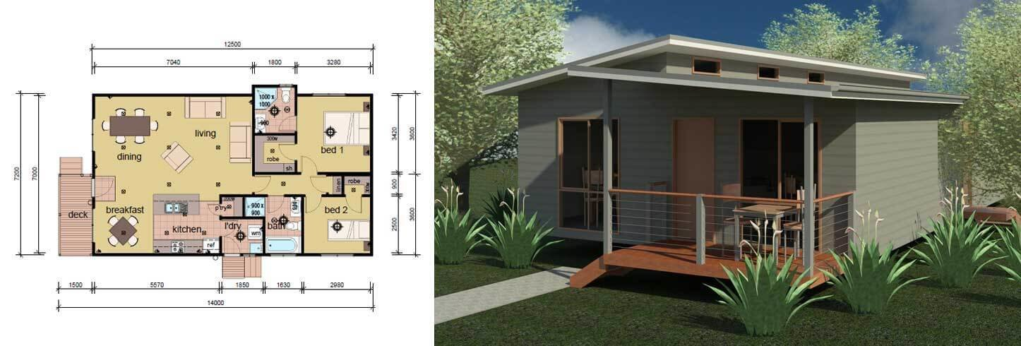 Best The Crossland 2 Bedroom 2 Bathroom Modular Home Parkwood With Pictures