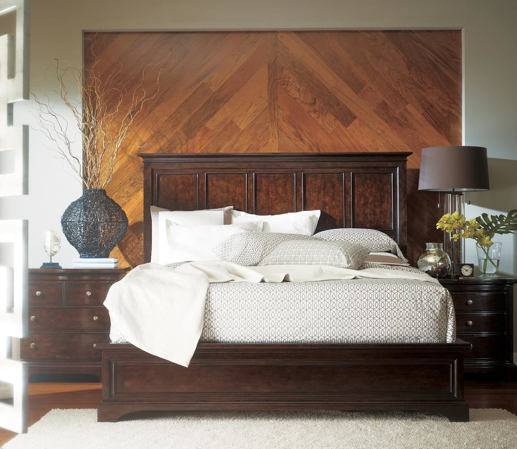 Best Stanley Furniture Transitional Portfolio Panel Bedroom Set With Pictures