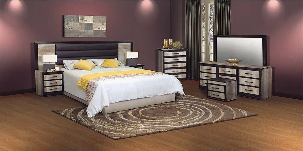Best You Pay Less For More Milan 4Pce Bedroom Suite Oak Wood With Pictures
