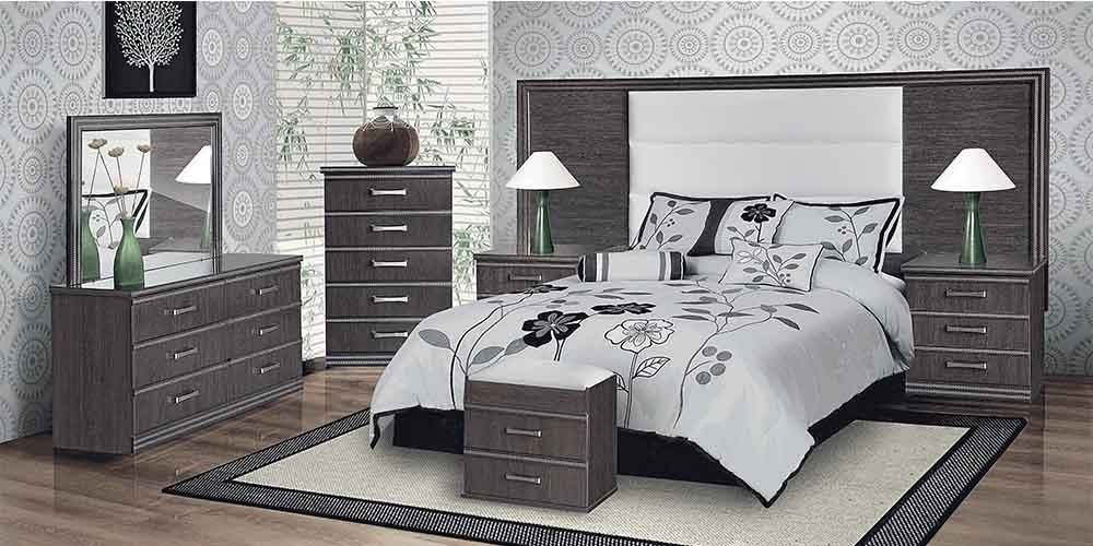 Best You Pay Less For More Milan 4Pce Bedroom Suite Brown Wood With Pictures