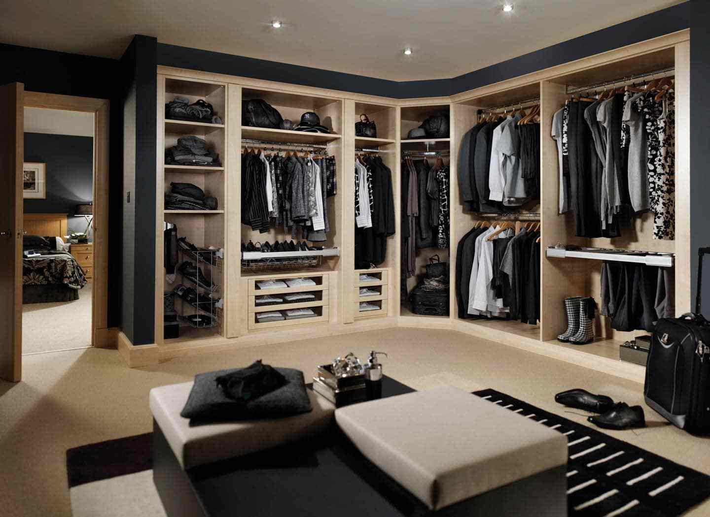 Best Bespoke Luxury Fitted Dressing Rooms Designs Handcrafted With Pictures