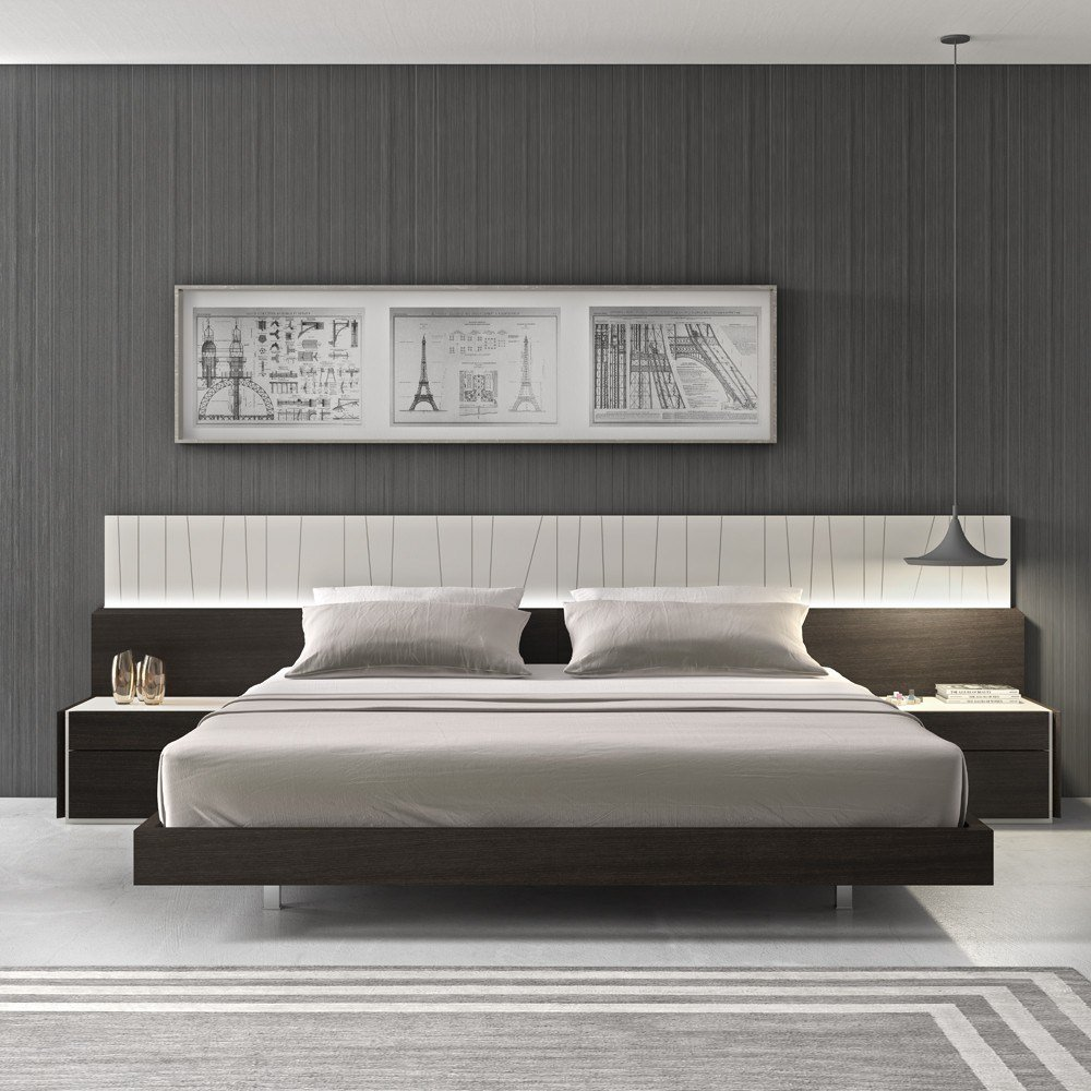 Best Porto Modern Bedroom Set With Pictures