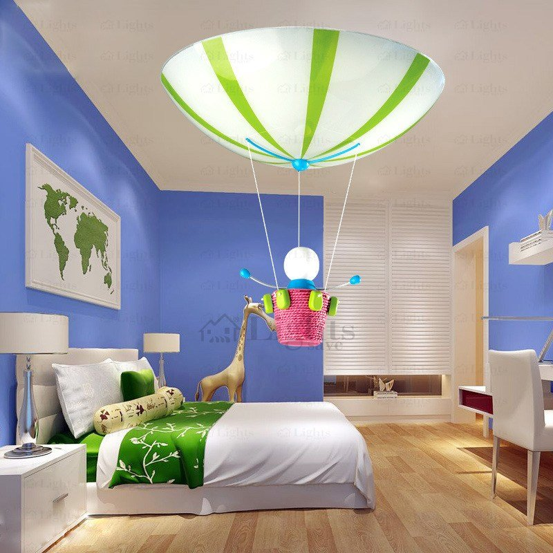 Best Cute Doll Pendant 3 Light Kids Bedroom Ceiling Lights With Pictures