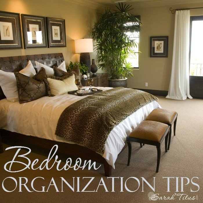 Best Bedroom Organization Tips Sarah Titus With Pictures