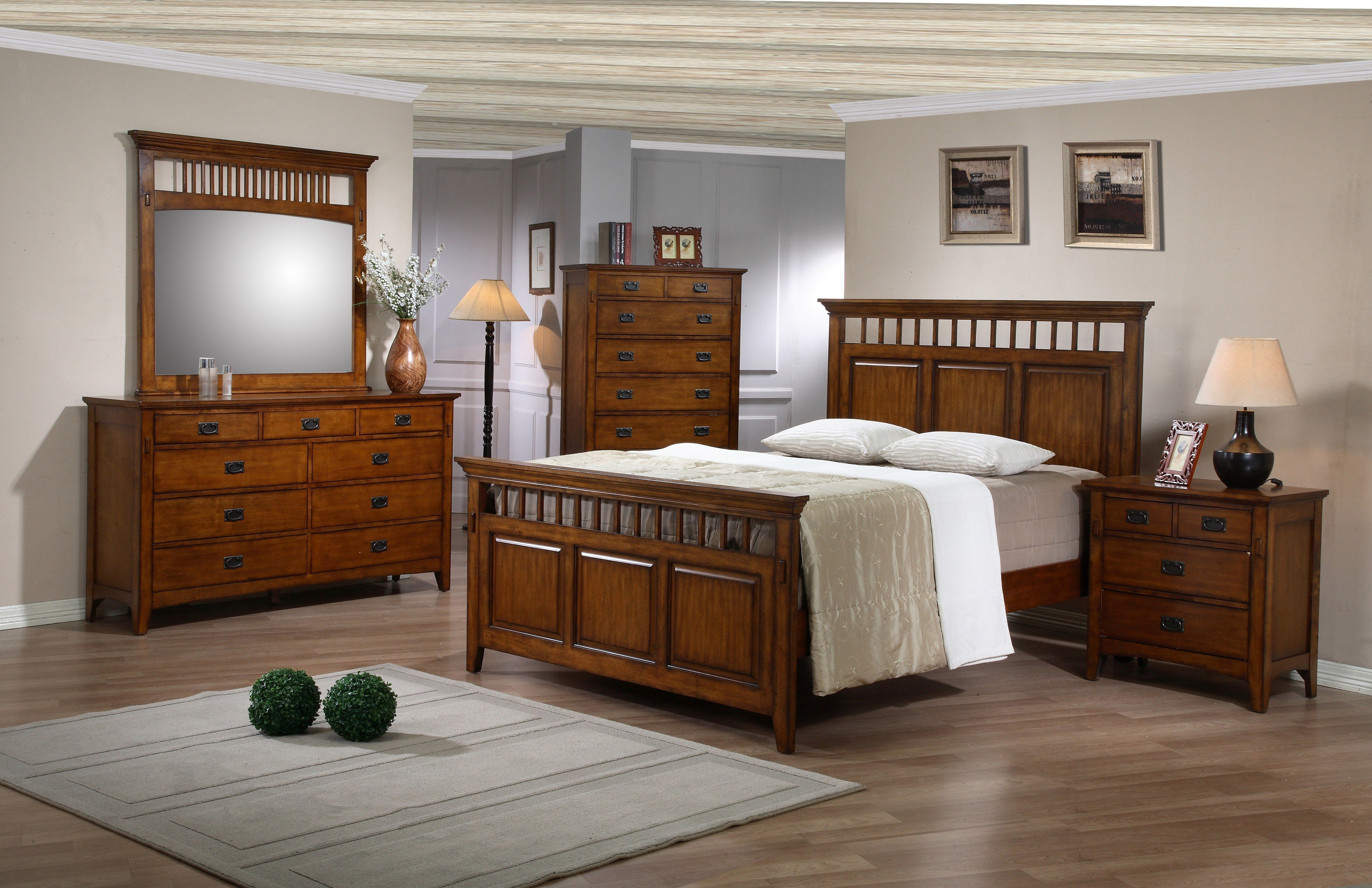 Best Ss Tr750 Bedroom 5 Piece Bedroom Set Sunset Trading With Pictures
