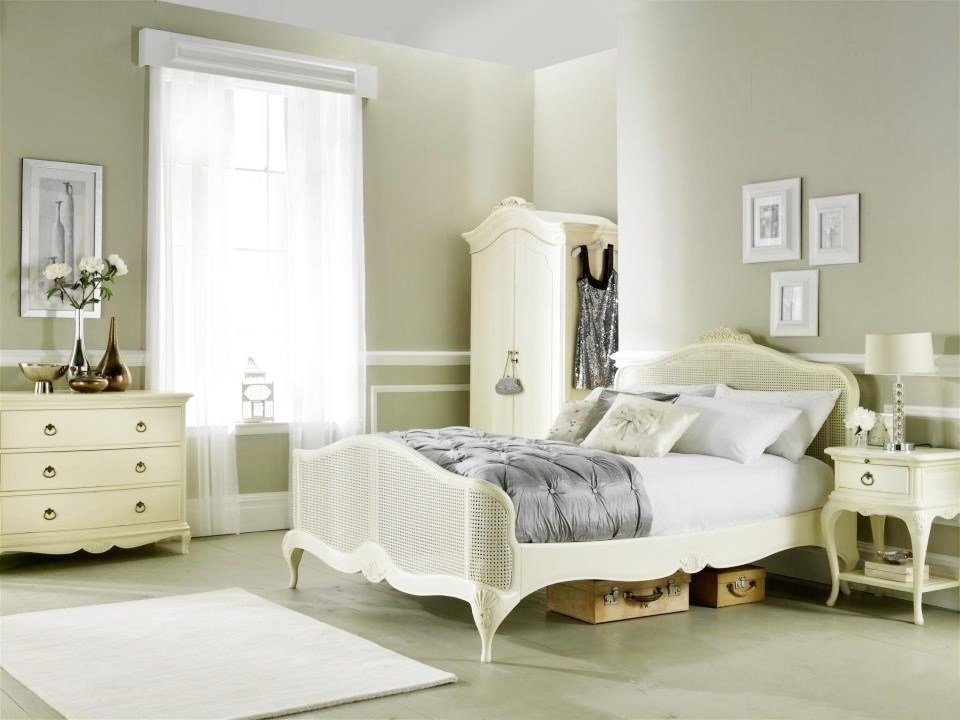 Best Ivory French Inspired Double Wardrobe French Armoires Ivory French Bedroom Furniture With Pictures