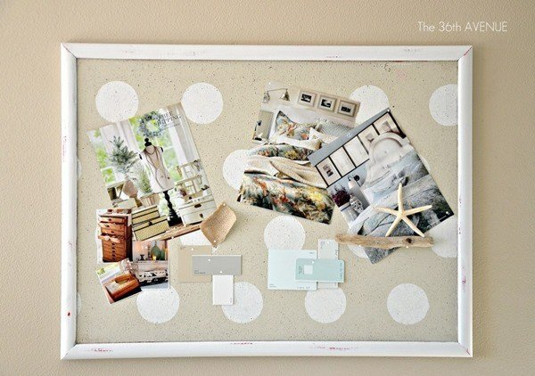 Best Diy Cork Board Tutorial The 36Th Avenue With Pictures