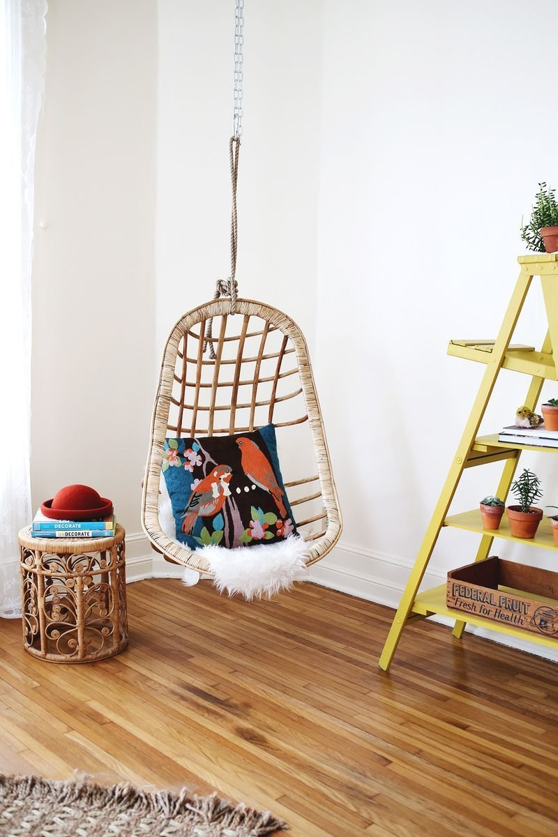 Best Hanging Wicker Chair For Indoor And Outdoor Extra Sitting With Pictures