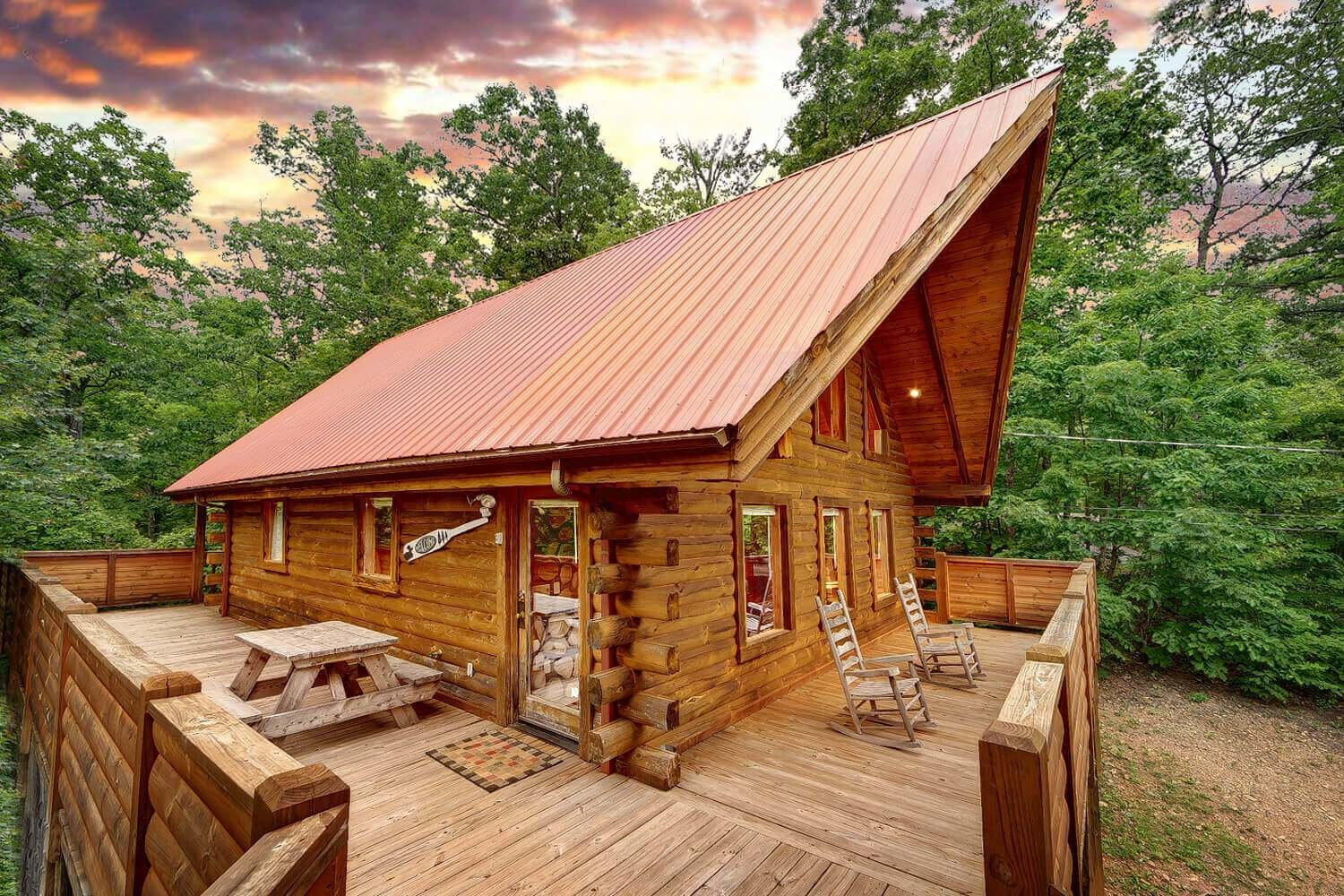 Best Buckhaven 1 Bedroom Honeymoon Cabin In Gatlinburg Elk With Pictures