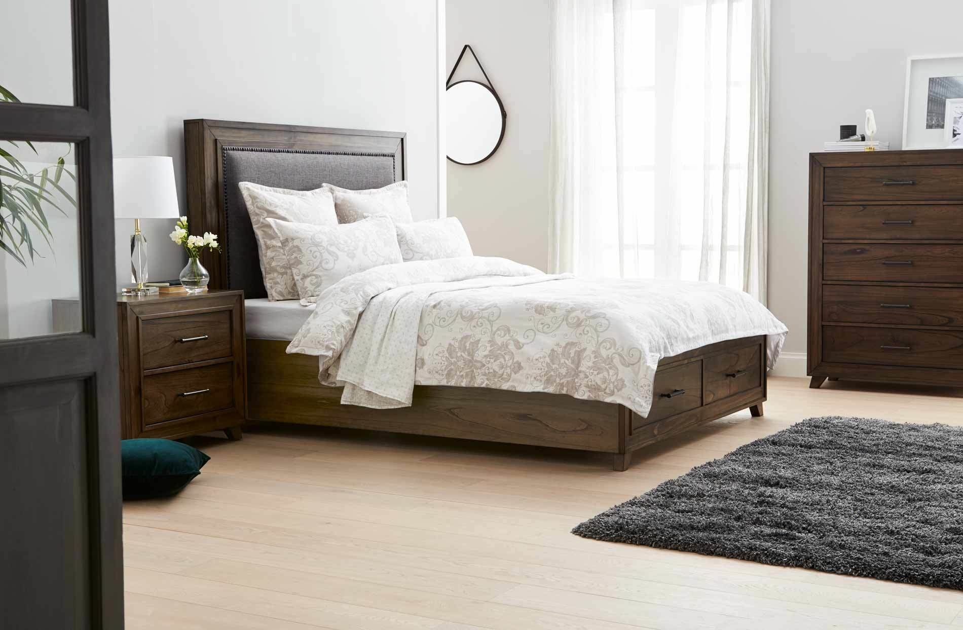 Best Oregon Bed Frame W Drawers Grey Oak Bedroom Furniture With Pictures