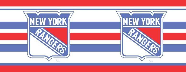 Best New York Rangers 7 Tall Wallpaper Border With Pictures