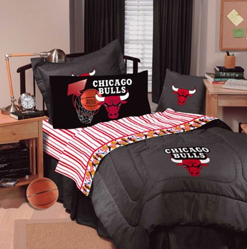 Best Chicago Bulls Nba Queen Sheet Set With Pictures