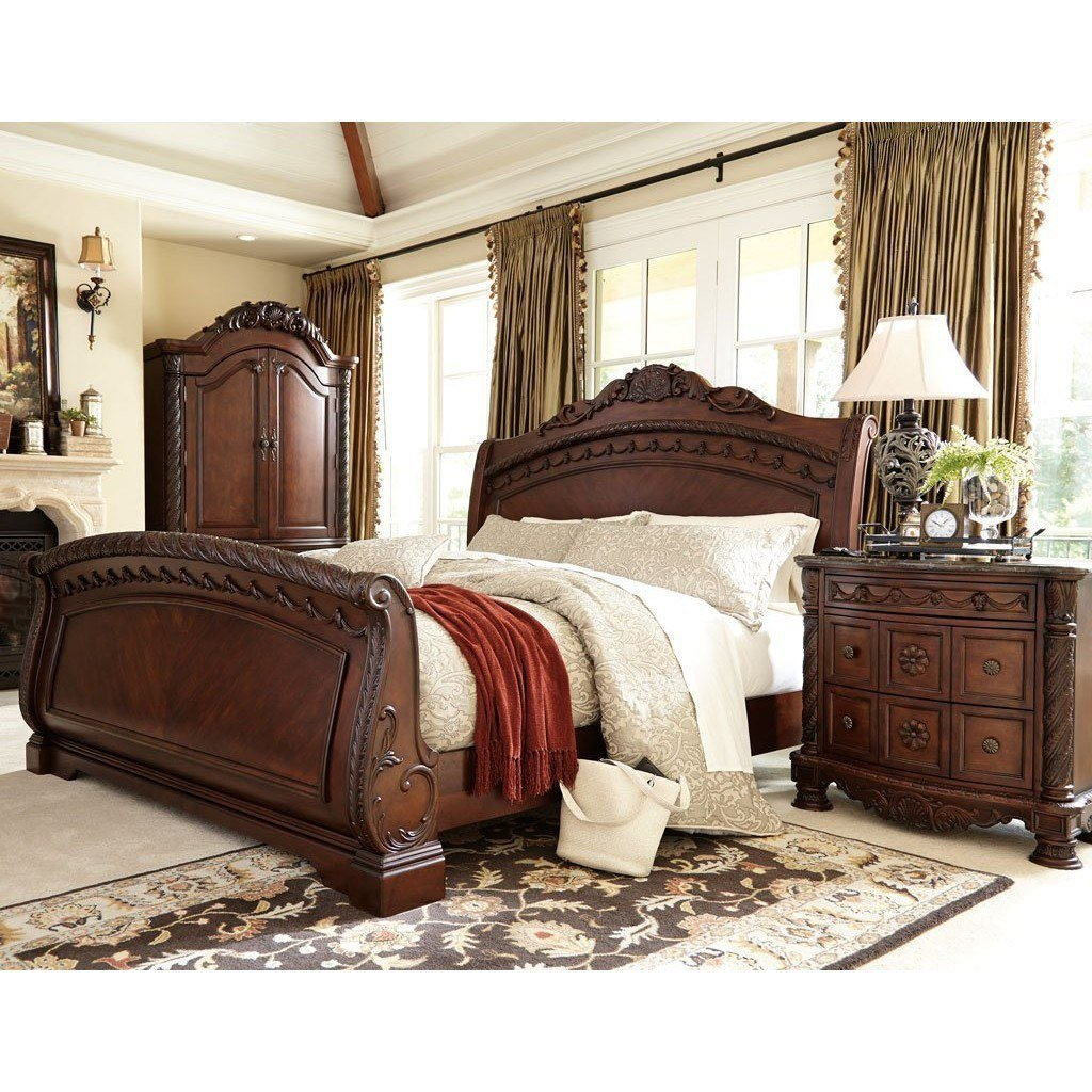 Best North Shore Sleigh Bedroom Set Millennium 4 Reviews With Pictures