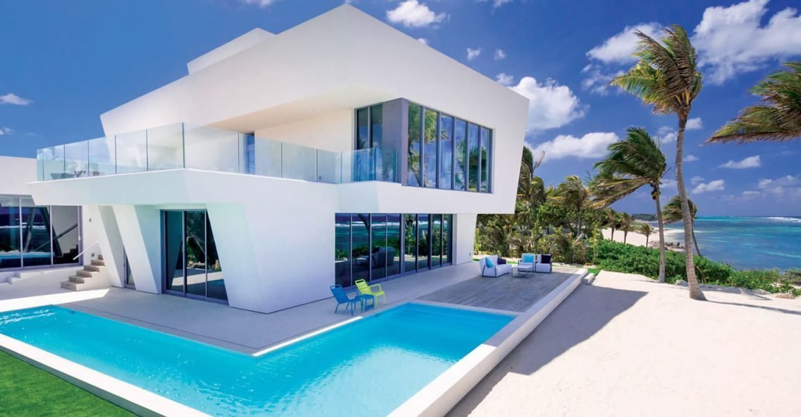 Best 4 Bedroom Ultra Contemporary Beach House For Sale R*M With Pictures