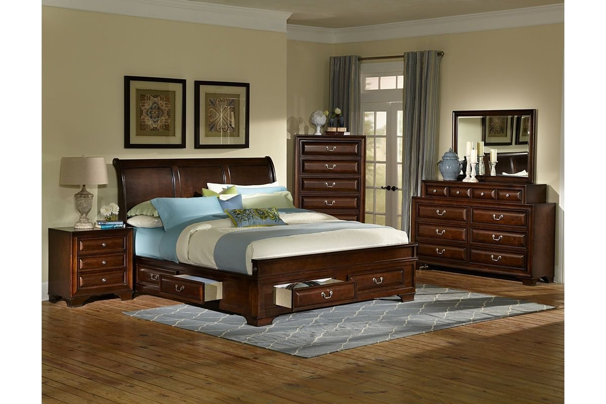 Best Cadence 4 Piece Queen Bedroom Set At Gardner White With Pictures