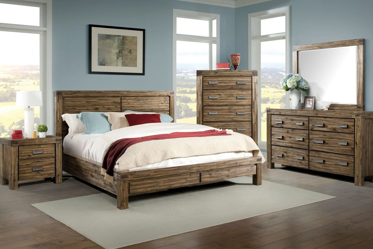 Best Joplin 5 Piece King Bedroom Set At Gardner White With Pictures