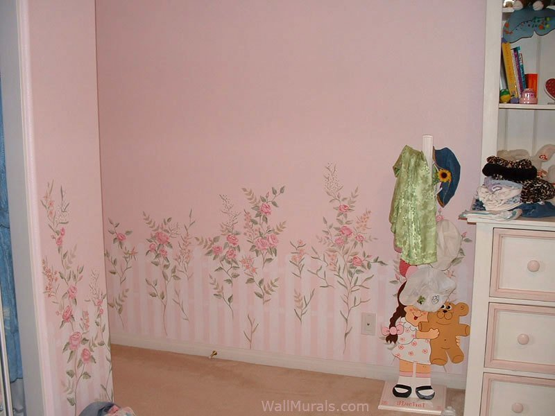 Best Girls Room Wall Murals Examples Of Wall Murals For With Pictures