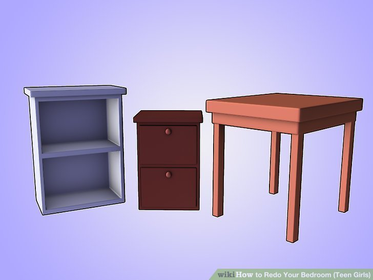 Best How To Redo Your Bedroom T**N Girls With Pictures Wikihow With Pictures