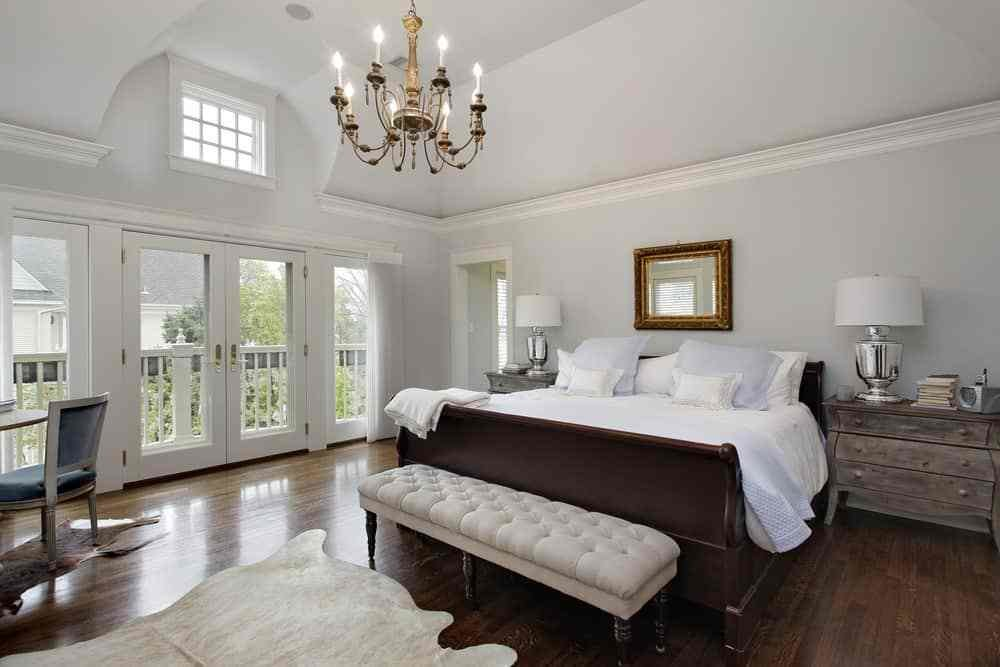 Best 101 Master Bedroom With Hardwood Floors 2019 With Pictures