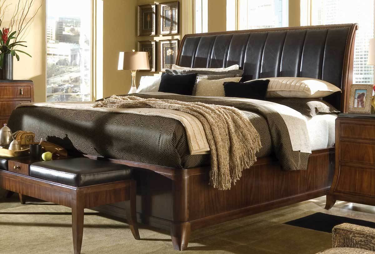 Best American Drew Bob Mackie Home Signature Sleigh Bedroom With Pictures