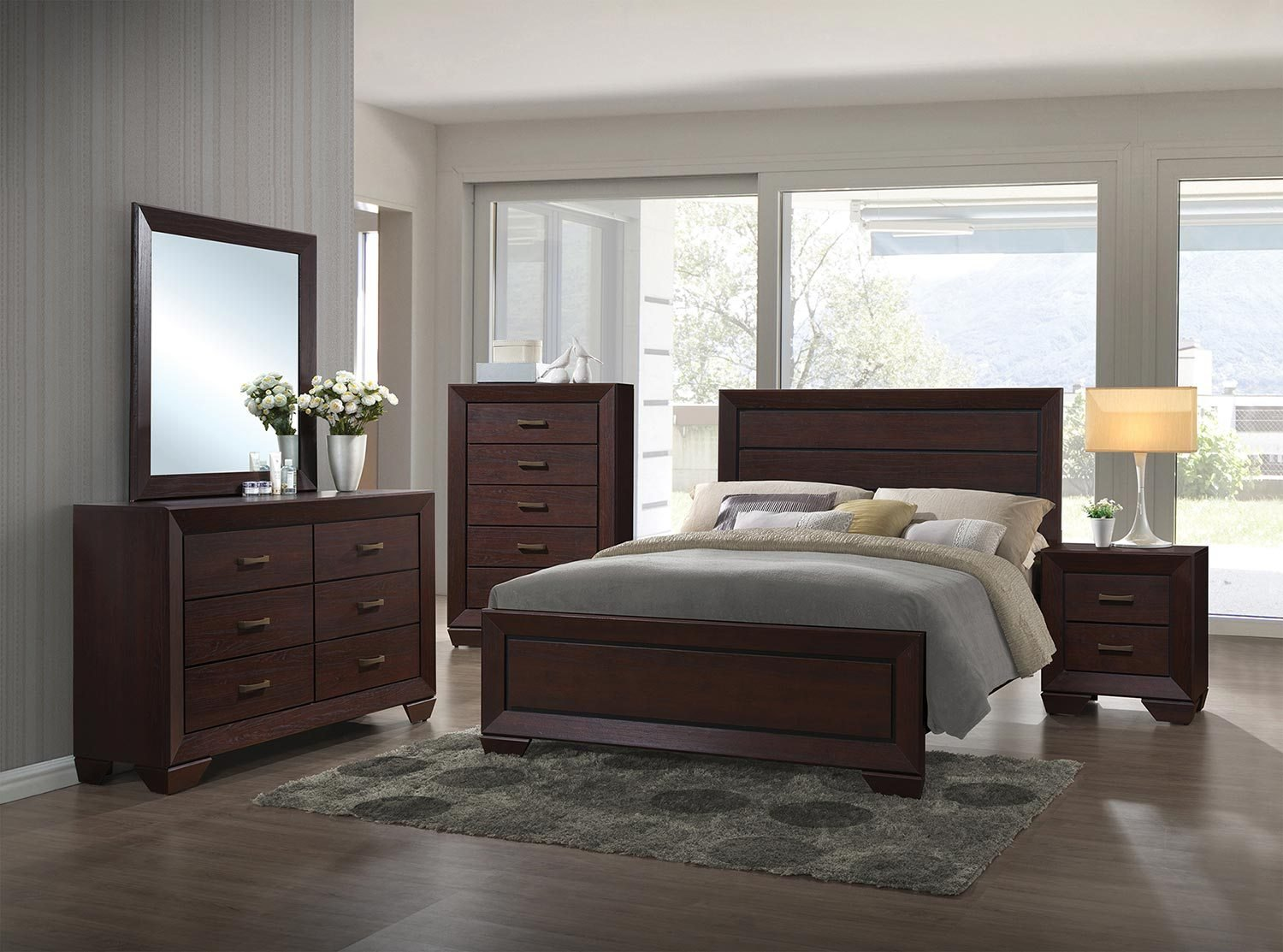 Best Coaster Fenbrook Bedroom Set Dark Cocoa 204391 Bedroom With Pictures